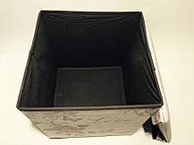 """Пуфик складной коробка """"Роза"""", фото 3"""