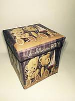 """Пуфик коробка в детскую """" Медвежата """""""