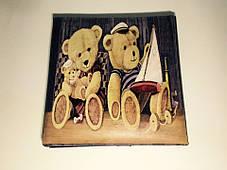 """Пуфик коробка в детскую """" Медвежата """", фото 3"""