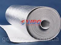 Полотно серебристое,ламинированное, одностороннее 2мм,1000мм, VIBO
