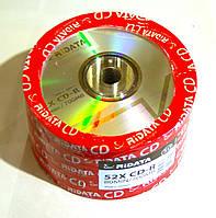 Диск CD-R 50 шт. Ridata, 700Mb, 52x, Bulk Box