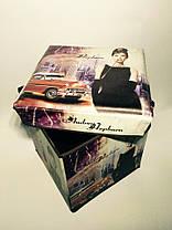 """Пуфик коробка складная """"Одри"""", фото 3"""