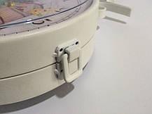 """Настенные уличные металлические кварцевые часы, в стиле вокзальных """" Лаванда """", фото 3"""