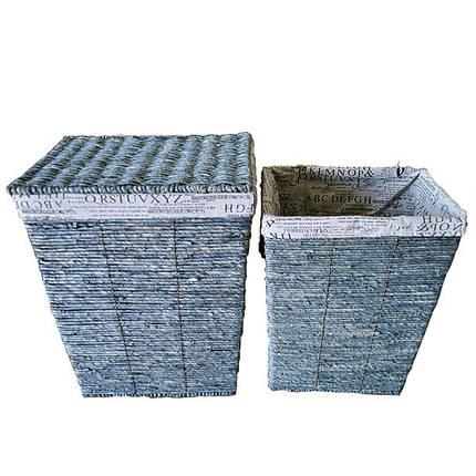 Набор корзин для белья из 2 шт., фото 2