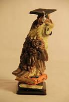 Статуэтка сова на книге Выпусник в академической шапочке 091201B , фото 3