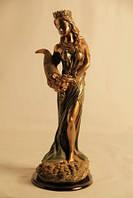 """Статуэтка """"Фортуна""""  богиня счастья, удачи и плодородия 24см (18С)"""