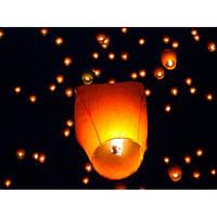 Летающие небесные китайские фонарики