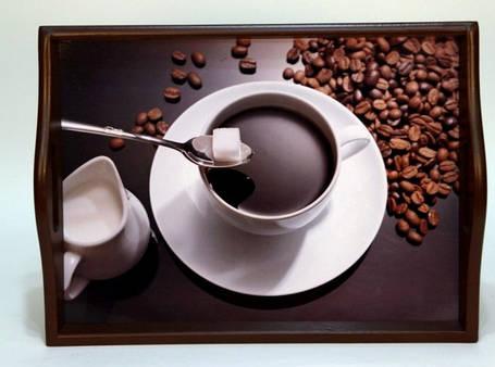 """Поднос на подушке, с ручками """" Coffee """", фото 2"""