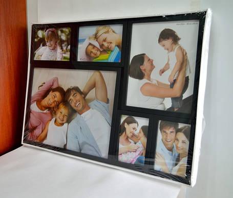 Фотоколлаж мультирамка, набор фоторамок, фото 2