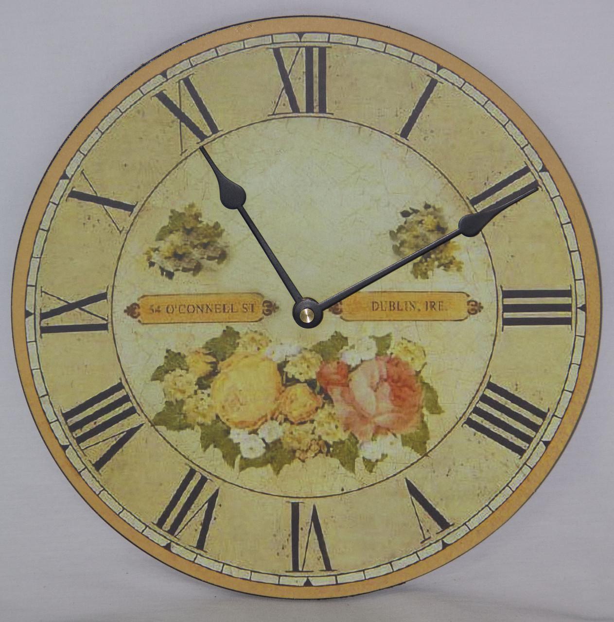 Настенные кварцевые часы МДФ