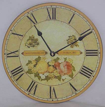 Настенные кварцевые часы МДФ, фото 2