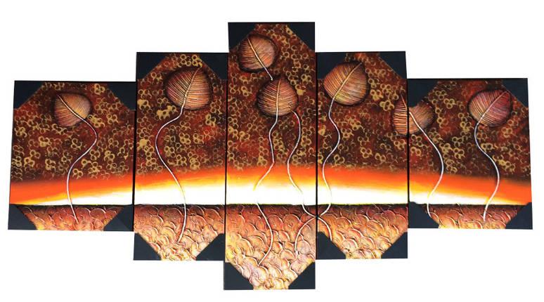 Модульная картина на холсте из 5 частей, фото 2