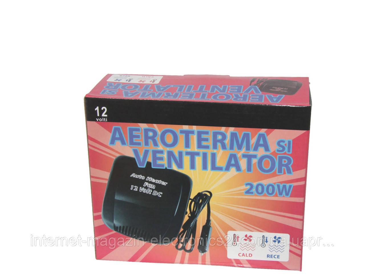 Обогреватель салона Aeroterma si Ventilator (теплый и холодный воздух) 12В 150Вт - Интернет магазин Electronics24 в Одессе