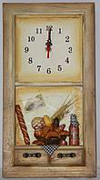 """Настенные кварцевые часы """" Кухня """""""