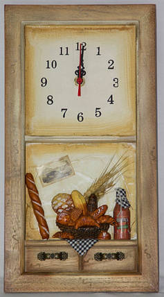 """Настенные кварцевые часы """" Кухня """", фото 2"""