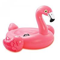 Надувной плотик круг плавания Intex 57558 Фламинго