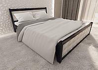 Кровать двуспальная Глория 160*200(190) массив ольха