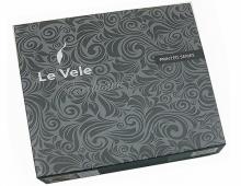 Комплект постельного белья Le Vele Buket black, двуспальный евро 200х220см, фото 2
