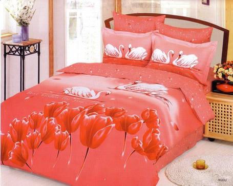 Комплект постельного белья Le Vele kugu, двуспальный евро 200х220см, фото 2