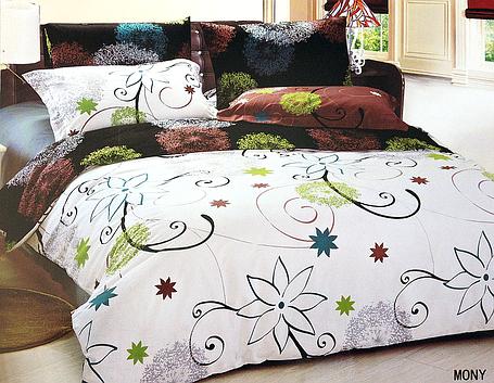 Комплект постельного белья Le Vele MONY, двуспальный евро 200х220см, фото 2