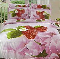 Комплект постельного белья Le Vele Cilek , Сатин 3D (100% Хлопок), двуспальный евро 200х220см