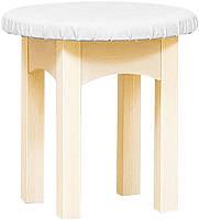 Стульчик Селина (SM), табурет круглый деревянный, диаметр 410 высота 395