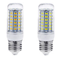 25W Е27, Е14 69LED Экономная светодиодная лампа! (белый и тёплый) LED лампа Качество!, Акция