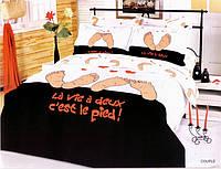 Семейный набор постельного белья LE VELE couple, сатин