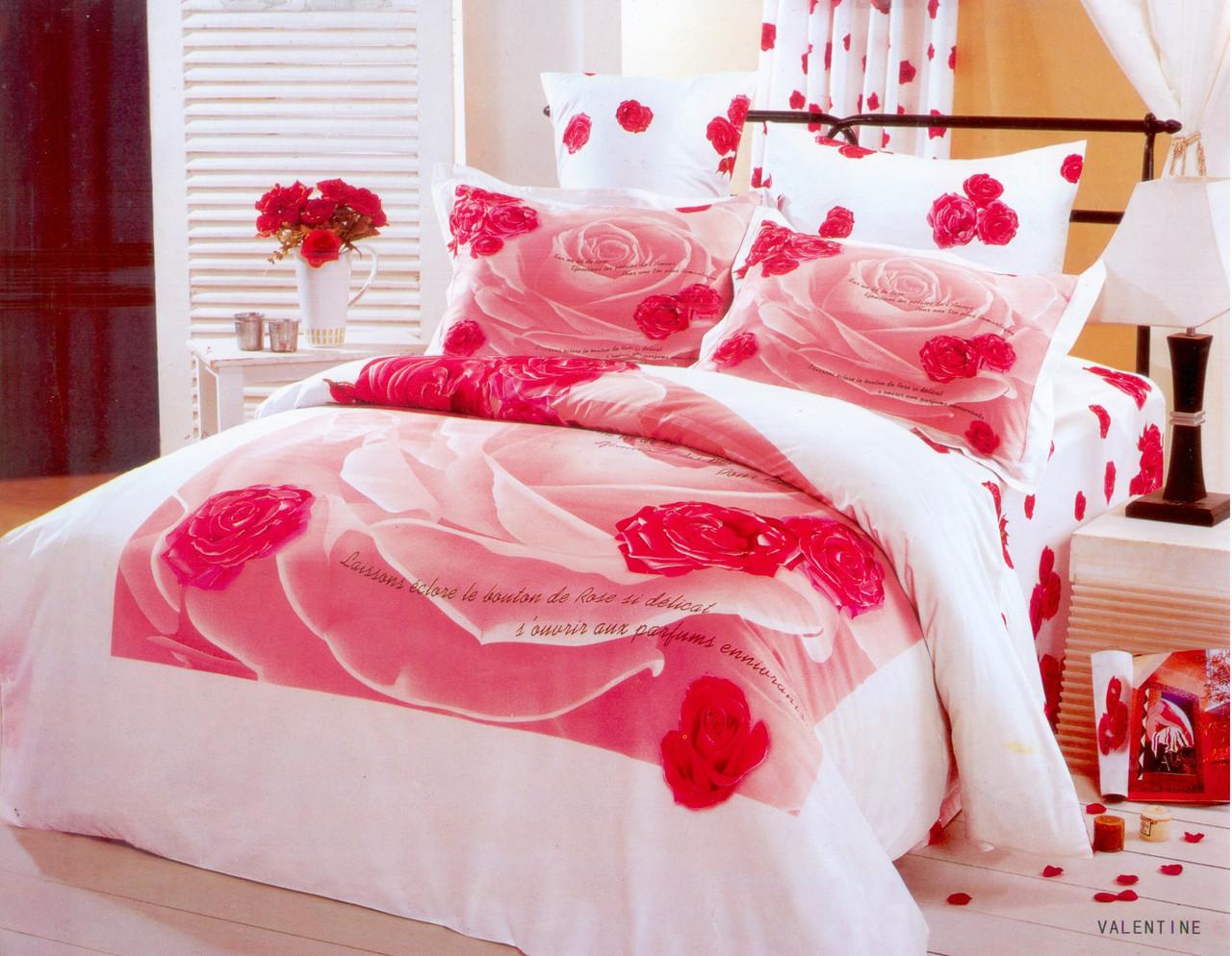 Семейный набор постельного белья LE VELE valentine, сатин