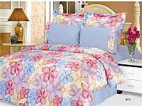 Комплект постельного белья Le Vele BETA , сатин-жатый шелк, двуспальный евро 200х220см