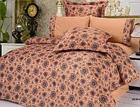 Комплект постельного белья Le Vele bremen , сатин-жатый шелк, двуспальный евро 200х220см