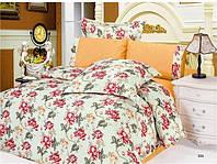 Комплект постельного белья Le Vele eda , сатин-жатый шелк, двуспальный евро 200х220см