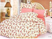 Комплект постельного белья Le Vele hilton , сатин-жатый шелк, двуспальный евро 200х220см