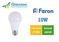Светодиодная лампа А60 Е27 10W Feron LB-710