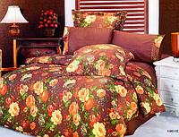 Комплект постельного белья Le Vele kandice, сатин-жатый шелк, двуспальный евро 200х220см