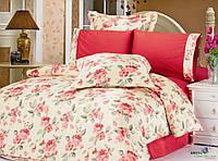 Комплект постельного белья Le Vele karya, сатин-жатый шелк, двуспальный евро 200х220см