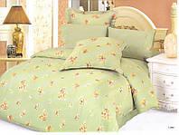 Комплект постельного белья Le Vele lake, сатин-жатый шелк, двуспальный евро 200х220см