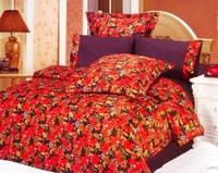 Комплект постельного белья Le Vele lopez, сатин-жатый шелк, двуспальный евро 200х220см