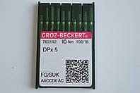 Иглы для швейной машины GROZ-BECKERT    100/16