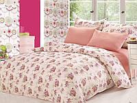 Комплект постельного белья Le Vele maya, сатин-жатый шелк, двуспальный евро 200х220см