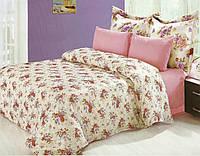 Комплект постельного белья Le Vele sena , сатин-жатый шелк, двуспальный евро 200х220см
