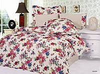 Комплект постельного белья Le Vele serana , сатин-жатый шелк, двуспальный евро 200х220см