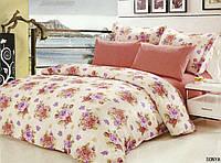 Комплект постельного белья Le Vele sonya, сатин-жатый шелк, двуспальный евро 200х220см