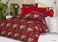 Комплект постельного белья Le Vele vereno, сатин-жатый шелк, двуспальный евро 200х220см