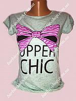 Прикольная футболочка для девушек