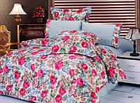 Комплект постельного белья Le Vele yeva, сатин-жатый шелк, двуспальный евро 200х220см