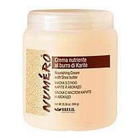 Brelil Numero Nourishing Cream With Shea Butter маска для волос с маслом карите и авокадо 1000 ml