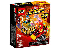 LEGO Super Heroes Mighty Micros: Железный человек против Таноса 76072