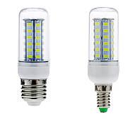 12W Е27, Е14 36LED Экономная светодиодная лампа! (белый и тёплый) LED лампа Качество!, Акция