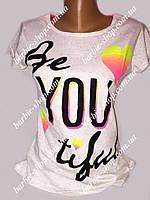 Стильная футболка для девушек